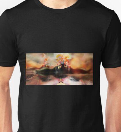 Reflective Recline [Digital Figure Illustration] Unisex T-Shirt