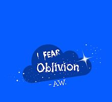 I fear oblivon by isipisi