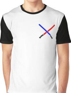Lightsaber Battle Graphic T-Shirt