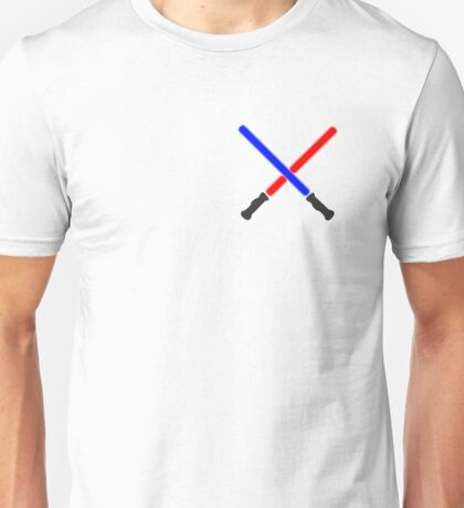 Lightsaber Battle Unisex T-Shirt