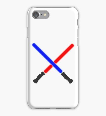 Lightsaber Battle iPhone Case/Skin
