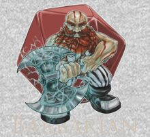 Dungeons and Dragons Barbarian Baby Tee