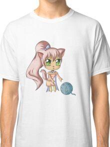 Chibi Neko Classic T-Shirt