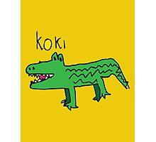 Koki The Crocodile ! Photographic Print
