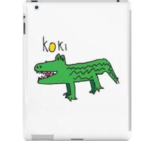 Koki The Crocodile ! iPad Case/Skin