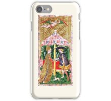 Tarot Card - Love/Swords (17th Century) iPhone Case/Skin