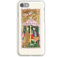 Tarot Card - Love/Swords (17th Century) iPhone Case/Skin
