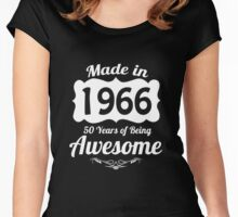 1966 Women's Fitted Scoop T-Shirt