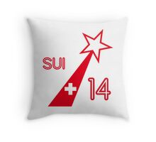 SWITZERLAND STAR  Throw Pillow
