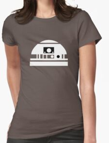 R2-D2 - White Womens Fitted T-Shirt