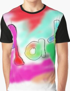 color spray Graphic T-Shirt