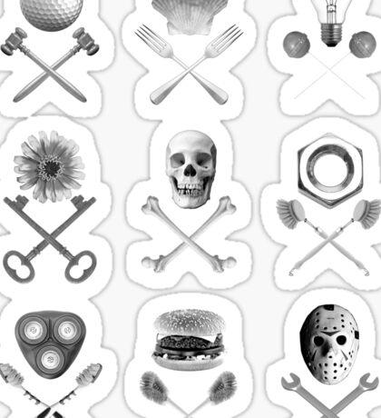 Existential Pirate - White Sticker