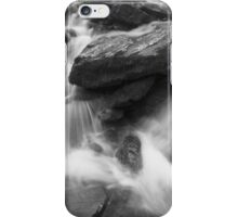 River cascading over rocks iPhone Case/Skin