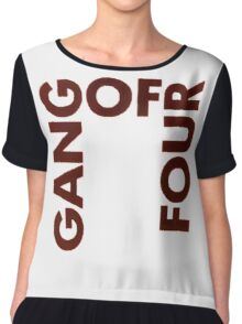 Gang of Four - Damaged Goods Chiffon Top