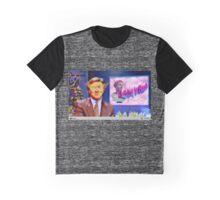 Vaporwave News Anchor Graphic T-Shirt
