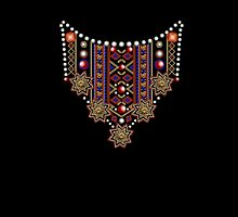 Pattern : Necklace by ramanandr