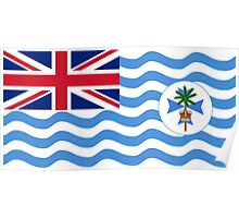 Coral Sea Islands Territory Flag Poster