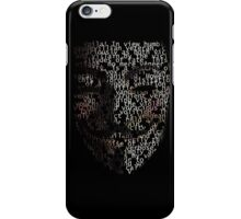 You may call me V. iPhone Case/Skin
