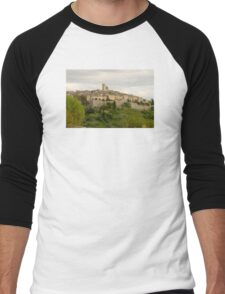 France. Saint Paul de Vence Men's Baseball ¾ T-Shirt