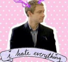 John Watson Sherlock Sticker Sticker