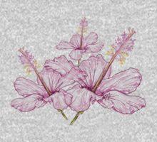 Light Pink Flower Kids Tee