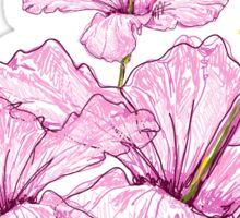 Light Pink Flower Sticker