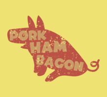 PORK HAM BACON by jazzydevil