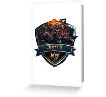 Pentakill Icon Greeting Card
