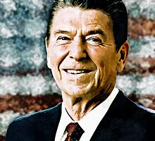 The Great President Ronald Reagan by morningdance
