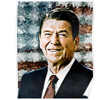 The Great President Ronald Reagan Poster
