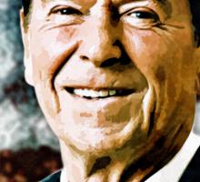 The Great President Ronald Reagan Sticker
