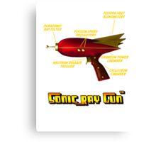 Sonic Ray Gun Canvas Print
