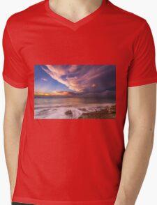 Sunset On The Beach  Mens V-Neck T-Shirt