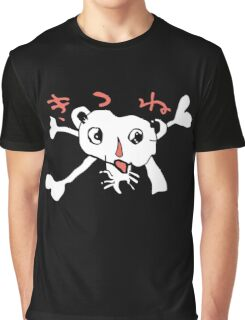 Foxy Jolly Roger Graphic T-Shirt