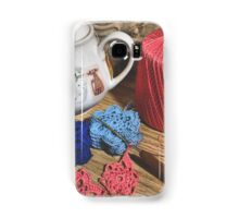 Tea & Crochet Samsung Galaxy Case/Skin