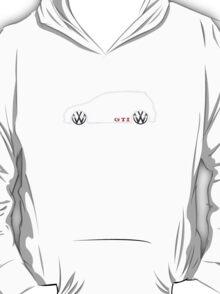 VW GTI MkV Silhouette  (light prnt) T-Shirt
