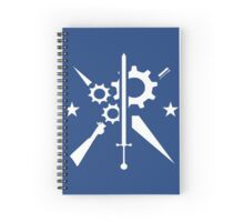 Brotherhood, Minute Men & Railroad Spiral Notebook