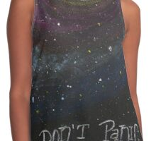 Don't Panic - The Hitchhiker's Guide to the Galaxy Contrast Tank