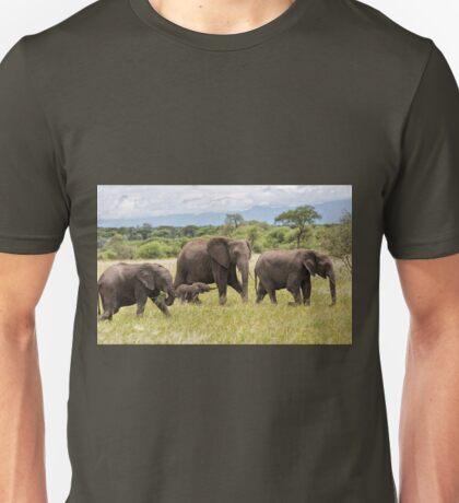 African Bush Elephants (Loxodonta africana) Unisex T-Shirt