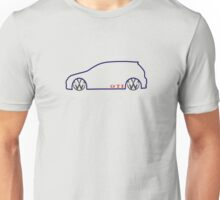 VW GTI MkV Silhouette   (dark prnt) Unisex T-Shirt