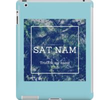 SAT NAM - Truth is my name iPad Case/Skin