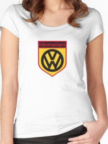 Fahrvergnugen (blk) Women's Fitted Scoop T-Shirt