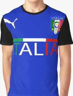 Euro 2016 Football Team Italy Graphic T-Shirt