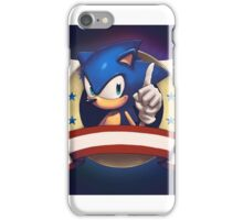 Sonic the Hedgehog Game Logo iPhone Case/Skin