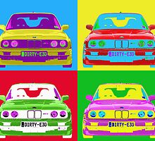 E30 Warhol'd by BGWdesigns