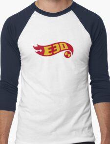 E30 hot wheels Men's Baseball ¾ T-Shirt