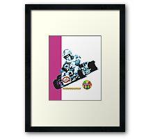 QVHK Parilla Purple Framed Print