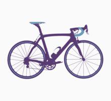 Bike Pop Art (Purple & Blue) Kids Clothes
