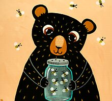 Bee Collecting Bear by Ryan Conners