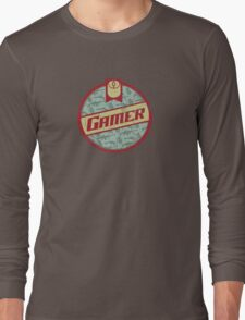Gamer (vintage) Long Sleeve T-Shirt
